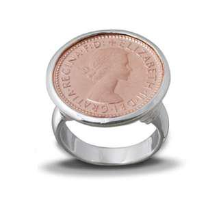 Von Treskow Rose Gold Six Pence Ring