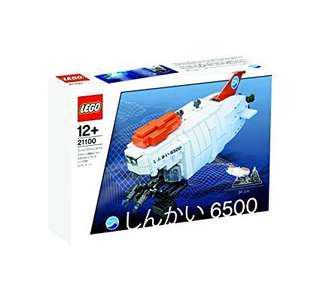全新Lego 21100 Shinkai 6500