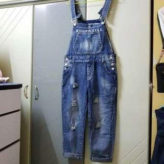 牛仔工人褲