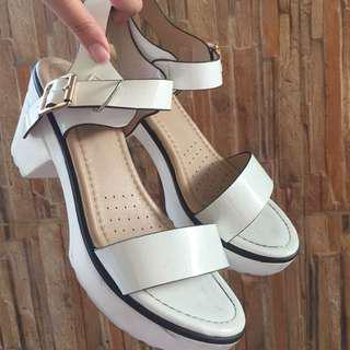 Wedges Fladeo White