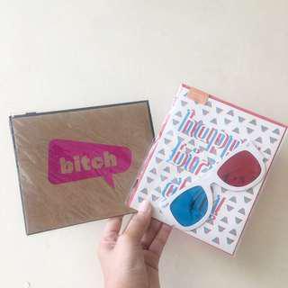 Typo Birthday Card