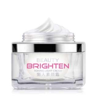 Brand new toning light cream