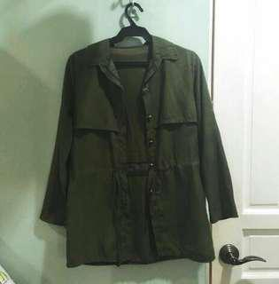 Korean Green Parka