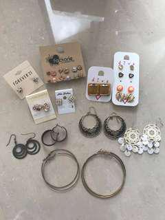 Lot of Diva, Factorie, Forever 21 Accessories Earrings, Necklaces, Rings, Bracelets
