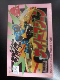 Hero's 電腦奇俠 電單車 超合金 Popy
