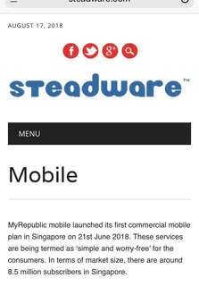 Most affordable boundless Mobile Data Plans from Steadware.com