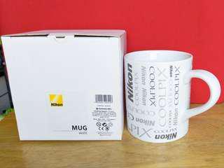 📸Nikon限量珍藏版白陶瓷有耳水杯Limited Edition Coolpix White Ceramic Mug