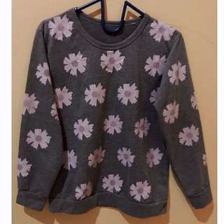 #Merdeka73 flower sweater