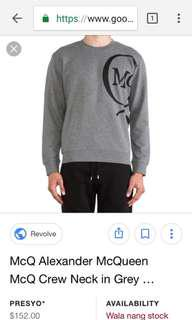 Alexander mc queen crewneck