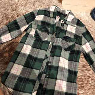 Topshop Checked Flannel
