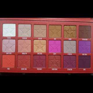 JEFFREE STAR COSMETICS BLOOD SUGAR EYESHADOW PALETTE NEW + AUTH FREE SHIPPING