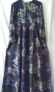 New Gamis / Dress Katun Silky