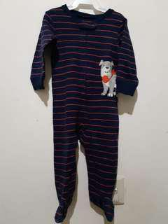 Carter's Navy Sleepsuit #maucoach