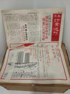 香港物業週刋 1980年7月18日 樓市 懷舊
