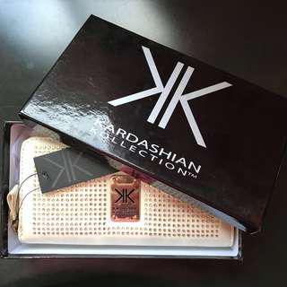 SALE White Studded Kardashian Kollection Wallet