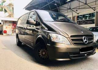 Mercedes-Benz Vito 114 Auto BlueTech Long Wheel Base