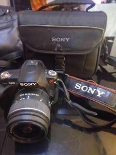 Sony DSLR A230 With SAL1855 Lens