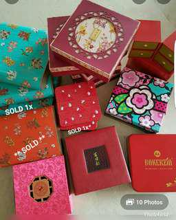 ❤ Price Reduced (from $1-5)Mooncake empty boxes