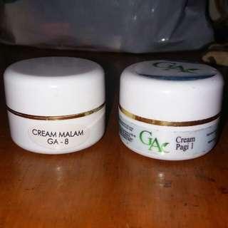 Cream GA 8 dan cream GA p 1