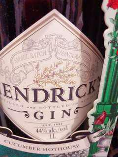 HENDRICK's Gin 44% (price for 2 bottles)