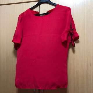 99.9%新女裝上衣適合返工標準尺碼送資生堂皂兩件
