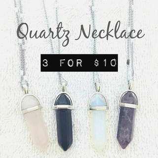 🚚 (PROMO!) Quartz Necklace