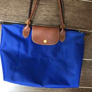 99.9%新Longchamp袋 細size長柄獨有彩藍色 買了新袋先平讓 新品一樣