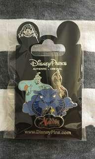 阿拉丁神燈-Disney pin迪士尼襟章
