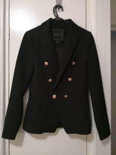 Balmain style forever new blazer