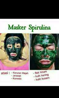 Masker / pemutih spirulina