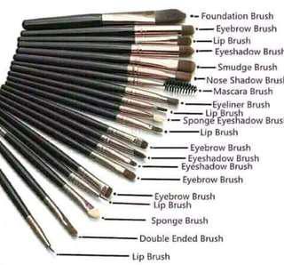 20pcs Make Up Brush.