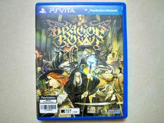 Psv Game 魔龍寶冠 Dragon's Crown Dragons Dragon 中文版