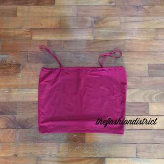 BN RED WINE CAMI TOP