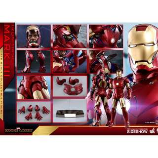 **WTB PO Slot** Hot Toys Iron Man Mark III 1/4 scale