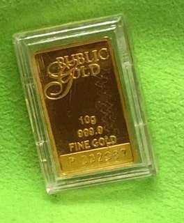 Gold Bar - weight 10 grams ✅