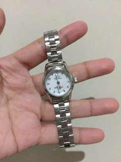 Silver stainless watch for woman UNUSED