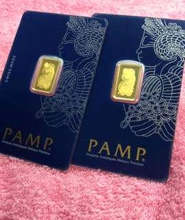 PAMP - 2.5 grams bar each ☘️☘️☘️☘️
