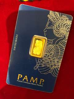 PAMP - Pure Gold (2.5g each) ✅