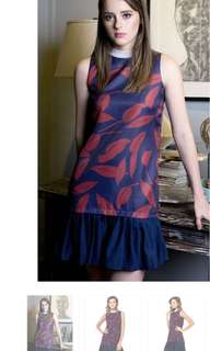 For swap to large. Plains & Prints wyeth dress. M