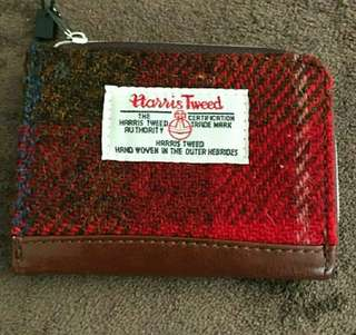 Harris Tweed coin and card holder