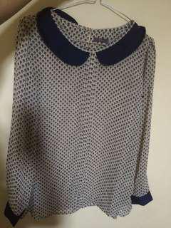 Chiffon shirt St Yves