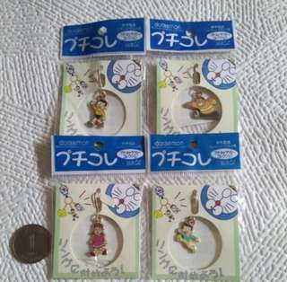 Doraemon 叮噹四個小掛飾