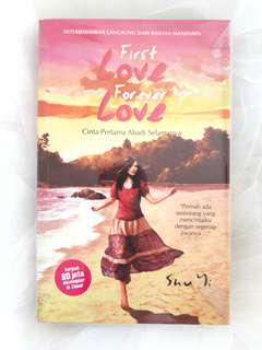 """First Love Forever Love"" Novel by Shu Yi"