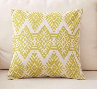 Nordic Design Geometric Linen Throw Pillow Case