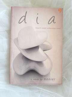 """DIA"" Novel by Nonier."