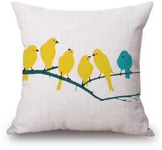 Nordic Design Linen Throw Pillow Case