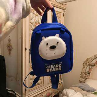 Miniso We Bare Bears kids backpack