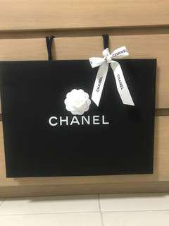 Authentic Chanel paper bag. Brand new