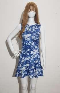 Floral Dress Scuba
