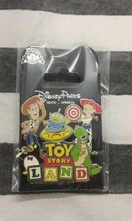 勁大Toys story-迪士尼襟章disney pin